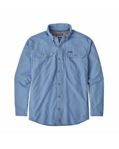 M's L/S Sol Patrol II Shirt-Railroad Blue