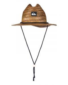 Quiksilver Men's Pierside Slim Straw Lifeguard Hat