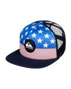 Quiksilver Men's Faded Out Trucker Hat