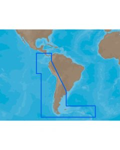 C-Map SA-M500 SD Card Format Costa Rica - Chile - Falklands Electronic Charts