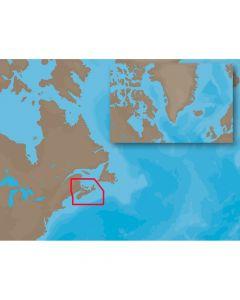 C-Map NA-C205 C-Card Format Fundy,  Nova Scotia,  Pei & Cape Breton Electronic Charts NA-C205C-CARD