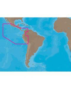 C-Map SA-C001 C-Card Format Peru - P- Vallarta P- Bolivar Electronic Charts