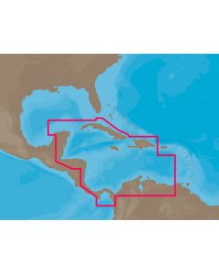 C-Map NA-C502 FP Card Western Caribbean Sea Electronic Charts