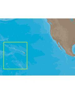 C-Map NA-C603 Furuno FP Format Hawaiian Islands Electronic Charts