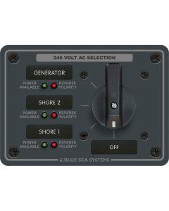 Blue Sea Systems 8361 AC Rotary Panel 240VAC 63A