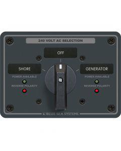 Blue Sea Systems 8363 AC Rotary Panel 240VAC 63A