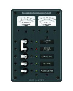 Blue Sea Systems 8409 Breaker Panel 120VAC 5 Position Main