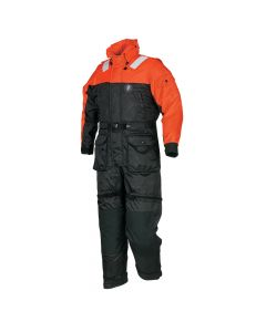 Mustang Survival Mustang Deluxe Anti - Exposure Coverall & Worksuit: S MS2175-S-OR/BK