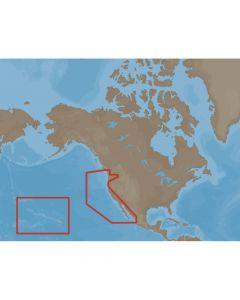 C-Map MAX U.S. West Coast & Hawaii C-Card Electronic Charts