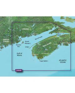 Garmin VCA004R Bay of Fundy SD Card Nautical Charts