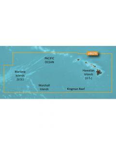 Garmin VUS027R BlueChart g2 Vision West Coast Hawaii Hawaiian Is. Mariana Is. SD Card Nautical Charts