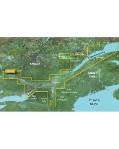 Garmin VUS020R BlueChart g2 Vision Great Lakes St. Lawrence Seaway SD Card Nautical Charts