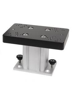 "Cannon Downriggers 4"" Aluminum Fixed Base Downrigger Pedestal"