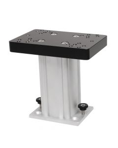 "Cannon Downriggers 6"" Aluminum Fixed Base Downrigger Pedestal"