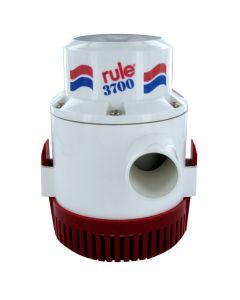"Rule Manual Bilge Pump 3700 GPH 1-1/2"" Port 24v"