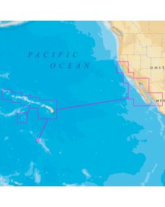Navionics Platinum Plus Hawaii,  California South to Baja on SD/Micro SD