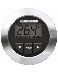 Humminbird HDR 650 In-Dash Depth Gauge with Transom-Mount Transducer