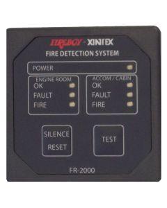 Fireboy Xintex 2 Zone Fire Detection & Alarm Panel