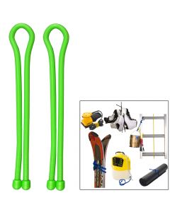 Nite Ize Gear Tie 24 - Lime Green 2 Pack