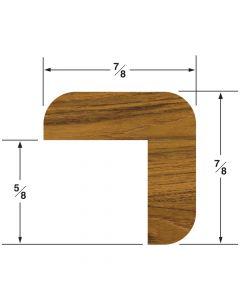 "Whitecap L Molding 7/8""H x 7/8""W, 5' length"