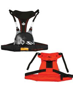 Stearns 4430 16g Manual Inflatable Paddlesport Harness/Vest - Red/Black