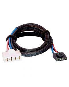 Tekonsha Brake Control Wiring Adapter - 2 Plug, Dodge, RAM, Chrysler