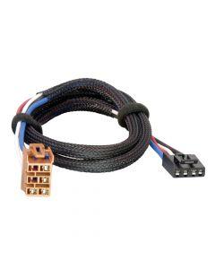 Tekonsha Brake Control Wiring Adapter - 2 Plug, GM, Chevrolet, Cadillac