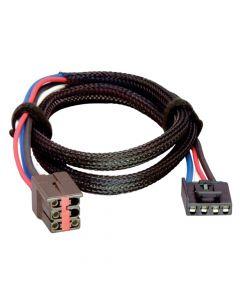 Tekonsha Brake Control Wiring Adapter - 2 Plug, Ford, Lincoln, Land Rover