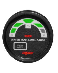 Fireboy Xintex Water Tank Display Round 2 Gauge f/2 Fresh Water Tanks