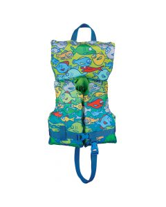 Full Throttle Character Vest - Infant/Child Less Than 50lbs - Fish