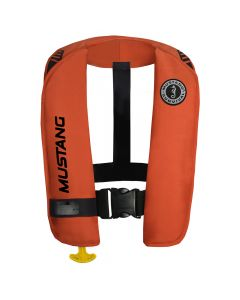 Mustang Survival Mustang MIT 100 Inflatable Automatic PFD w/Reflective Tape - Orange