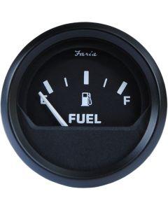 Faria Euro Black 2 Fuel Level Gauge (E-1/2-F)