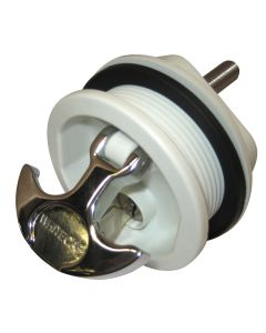 Whitecap T-Handle, Locking, Chrome Handle/White Body