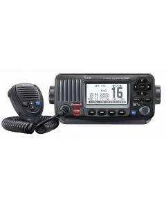 Icom M424G Fixed Mount VHF Marine Transceiver w/Built-In GPS - Black