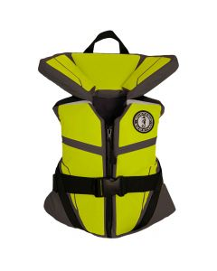 Mustang Survival Mustang Lil' Legends 100 Youth Vest - 50-90lbs - Gray/Flourescent Yellow/Green
