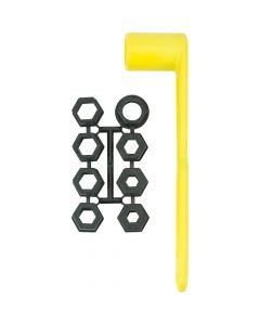 Attwood Prop Wrench Set - Fits 17/32 to 1-1/4 Prop Nuts