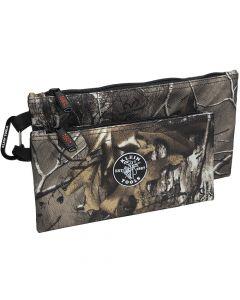 Klein Tools Zipper Bags - Camo - 2-Pack