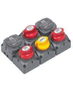 Marinco BEP Battery Distribution Cluster f/Twin Outboard Engines w/Three Battery Banks 717-140A-DVSR
