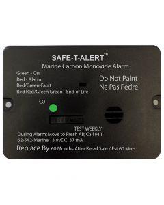 Safe-T-Alert 62 Series Carbon Monoxide Alarm w/Relay - 12V - 62-542-Marine-PLY-NC - Flush Mount - Black