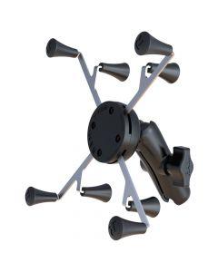 Ram Mounts RAM Mount Universal X-Grip Cradle with 1 Ball & STANDARD Length Double Socket Arm f/7 Tablets