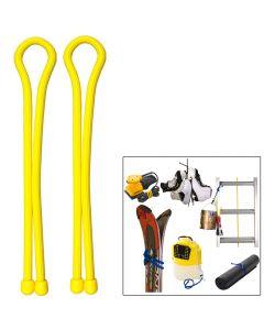 Nite Ize Gear Tie 24 - Yellow - 2-Pack