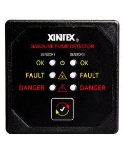 Fireboy Xintex Gasoline Fume Detector w/2 Plastic Sensors - Black Bezel Display
