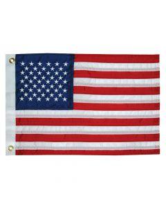 "Taylor Made, US American 50 Star Sewn Nylon Boat Flag 12"" x 18"", Signal Flags"