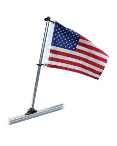 """Taylor Made Flag Pole 30"""" with 16"""" x 24"""" Flag & Mount, Flag Pole and Hardware"""