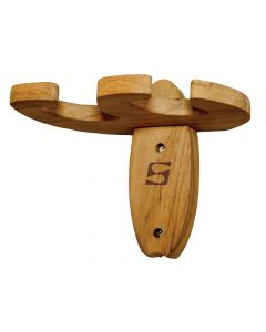Surfstow PaddleRAX Dual Paddle Holder - Teak