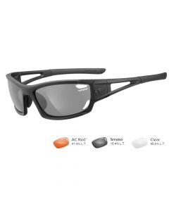 Tifosi Asian Dolomite 2.0 Sunglasses - Matte Black - Smoke/AC Red™/Clear