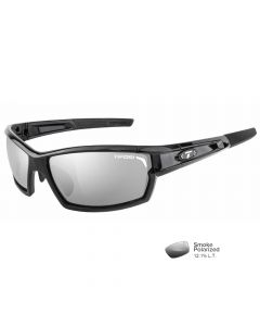 Tifosi Camrock Gloss Black Polarized Sunglasses - Smoke Polarized