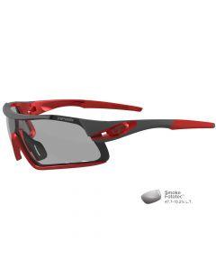 Tifosi Davos Race Red Sunglasses - Smoke Fototec™