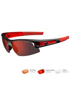 Tifosi Synapse Race Red Sunglasses - Clarion Red/AC Red™/Clear