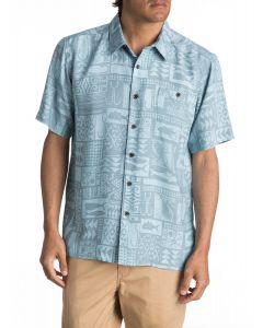 Quiksilver Men's Waterman Maludo Bay Short Sleeve Shirt